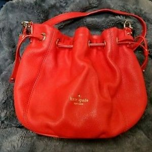 Kate spade lipstick red purse shoulder bag